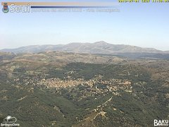 view from Monte Lusei Seui on 2019-07-01