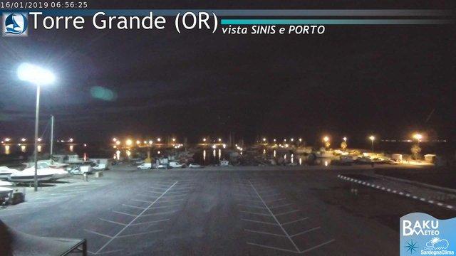 time-lapse frame, Torre Grande webcam