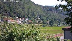 view from Webcam in Bad Schandau Sächsische Schweiz on 2019-06-18
