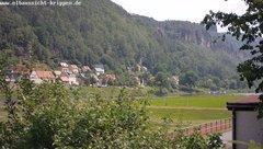 view from Webcam in Bad Schandau Sächsische Schweiz on 2019-06-19