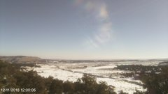 view from West Rabbit Gulch, Duchesne County, UT on 2018-12-11