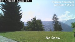 view from Verbier Snowcam2 on 2018-08-04