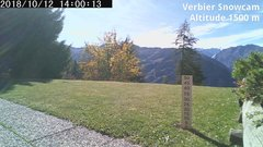 view from Verbier Snowcam2 on 2018-10-12