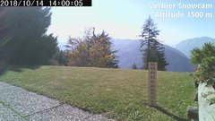 view from Verbier Snowcam2 on 2018-10-14