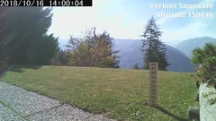 view from Verbier Snowcam2 on 2018-10-16