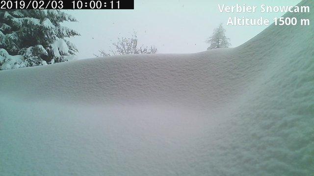 time-lapse frame, Verbier Snowcam2 webcam