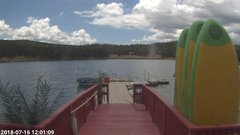view from Angel Fire Resort - Monte Verde Lake on 2018-07-16