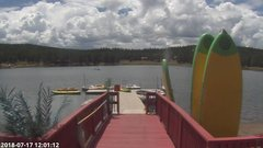 view from Angel Fire Resort - Monte Verde Lake on 2018-07-17