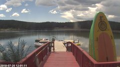 view from Angel Fire Resort - Monte Verde Lake on 2018-07-20