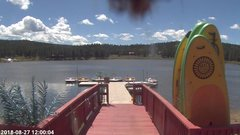 view from Angel Fire Resort - Monte Verde Lake on 2018-08-27