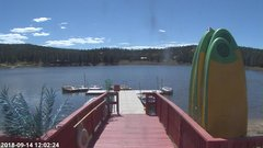 view from Angel Fire Resort - Monte Verde Lake on 2018-09-14