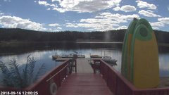 view from Angel Fire Resort - Monte Verde Lake on 2018-09-16