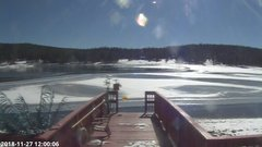 view from Angel Fire Resort - Monte Verde Lake on 2018-11-27