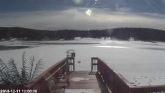 view from Angel Fire Resort - Monte Verde Lake on 2018-12-11