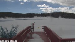 view from Angel Fire Resort - Monte Verde Lake on 2019-03-18