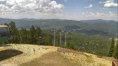 view from Angel Fire West View on 2018-08-05