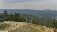 view from Angel Fire West View on 2018-08-15