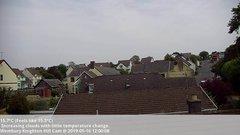 view from Wembury, Devon. Knighton Hill Cam on 2019-05-16