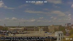 view from University Place Apartments - West Weather on 2019-04-17
