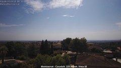 view from Montserrat - Casadalt (Valencia - Spain) on 2018-08-13