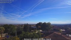 view from Montserrat - Casadalt (Valencia - Spain) on 2018-11-29