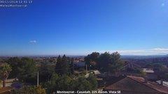 view from Montserrat - Casadalt (Valencia - Spain) on 2018-11-30