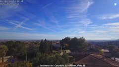view from Montserrat - Casadalt (Valencia - Spain) on 2018-12-04