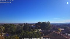 view from Montserrat - Casadalt (Valencia - Spain) on 2018-12-09