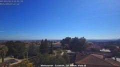 view from Montserrat - Casadalt (Valencia - Spain) on 2019-03-09
