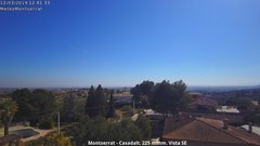 view from Montserrat - Casadalt (Valencia - Spain) on 2019-03-12