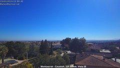 view from Montserrat - Casadalt (Valencia - Spain) on 2019-03-15