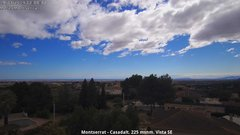 view from Montserrat - Casadalt (Valencia - Spain) on 2019-03-19