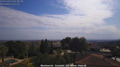 view from Montserrat - Casadalt (Valencia - Spain) on 2019-03-22