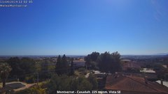 view from Montserrat - Casadalt (Valencia - Spain) on 2019-04-11