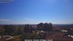 view from Montserrat - Casadalt (Valencia - Spain) on 2019-04-12