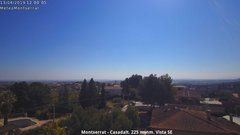 view from Montserrat - Casadalt (Valencia - Spain) on 2019-04-13