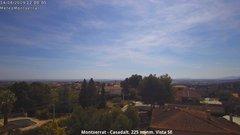 view from Montserrat - Casadalt (Valencia - Spain) on 2019-04-14