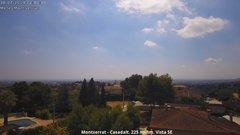 view from Montserrat - Casadalt (Valencia - Spain) on 2019-07-10