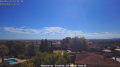 view from Montserrat - Casadalt (Valencia - Spain) on 2019-08-08
