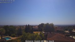 view from Montserrat - Casadalt (Valencia - Spain) on 2019-08-14