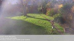 view from Wembury, Devon. Garden Cam on 2018-12-09