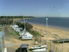 view from Cowes Yacht Club - West on 2019-04-12