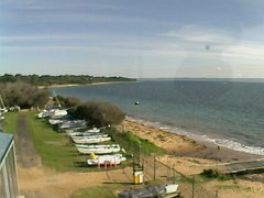 view from Cowes Yacht Club - West on 2019-06-16