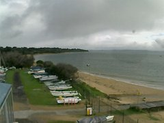 view from Cowes Yacht Club - West on 2019-08-13