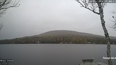 view from Neal Pond on 2018-10-15