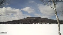 view from Neal Pond on 2019-03-07