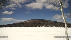 view from Neal Pond on 2019-03-18