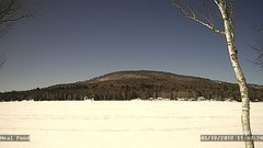 view from Neal Pond on 2019-03-19
