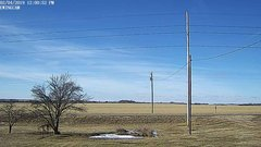 view from Ewing, Nebraska (west view)   on 2019-02-04