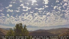 view from Horseshoe Bend, Idaho CAM2 on 2018-09-14